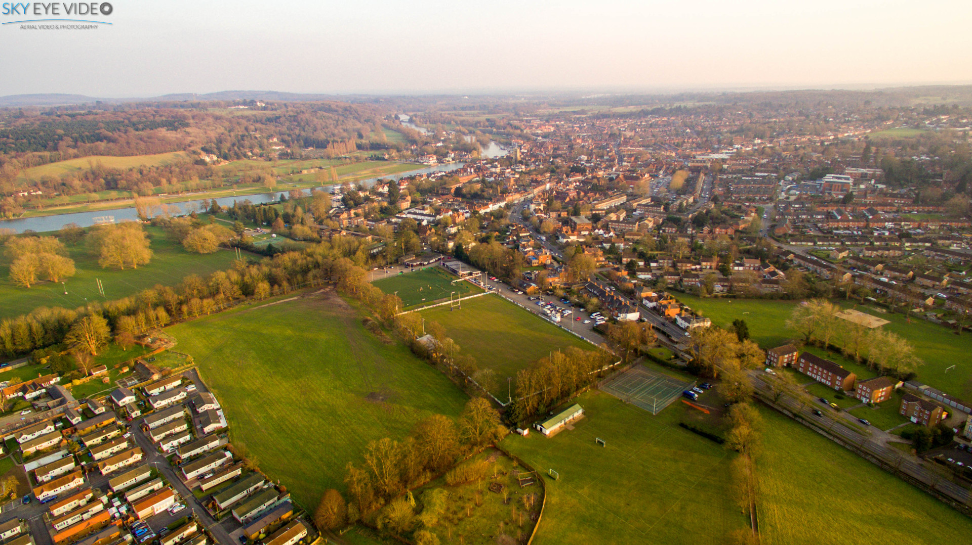 Aerial view of Henley